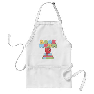 Book Worm Tshirts and Gifts Adult Apron