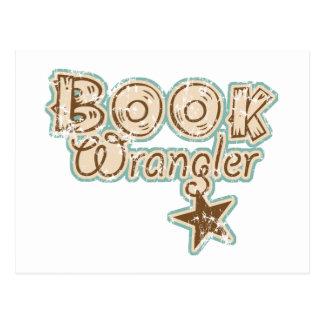 Book Wrangler Postcard