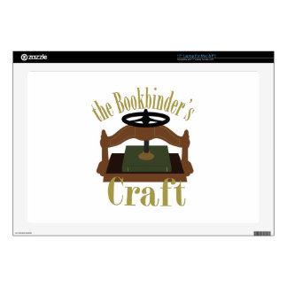Bookbinders Craft Laptop Decals