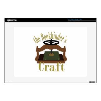 "Bookbinders Craft Skin For 15"" Laptop"