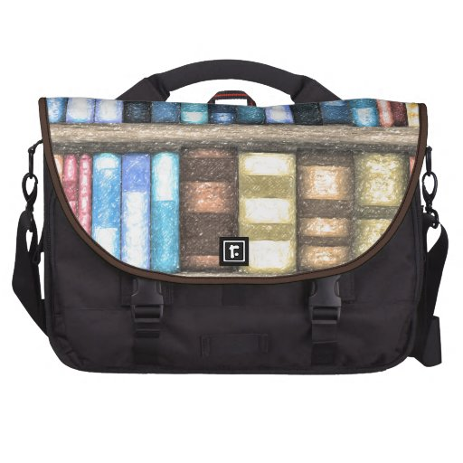 Bookcase 2 bags for laptop