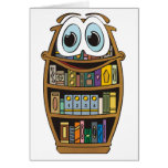 Bookcase Cartoon Cards