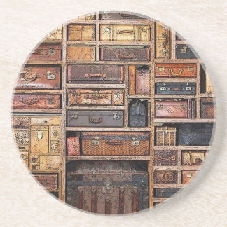 Bookcase Drink Coasters