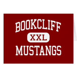 Bookcliff - Mustangs - Middle - Grand Junction Card