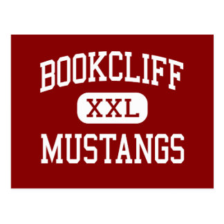 Bookcliff - Mustangs - Middle - Grand Junction Postcard