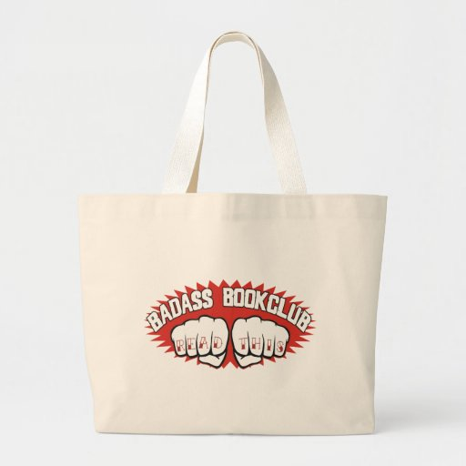 Bookclub de Badass Bolsas Lienzo