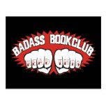 Bookclub de Badass Tarjetas Postales