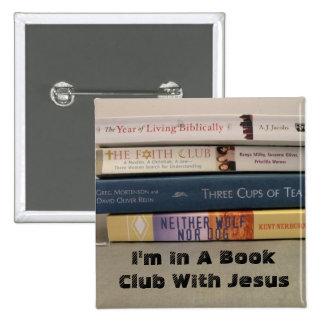 bookclub pin cuadrada 5 cm
