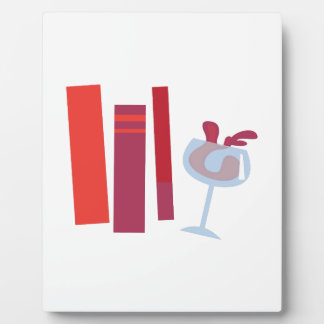Bookclub Display Plaques