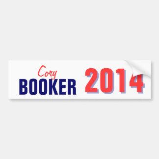 Booker 2014 car bumper sticker