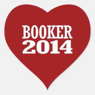 BOOKER 2014 STICKER