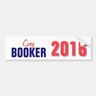 Booker 2016 etiqueta de parachoque