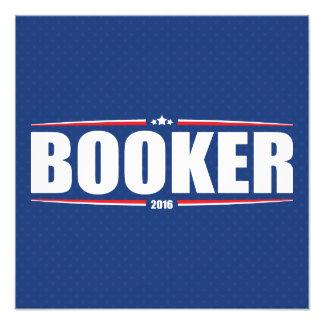Booker 2016 de Cory (estrellas y rayas - azul) Fotografias