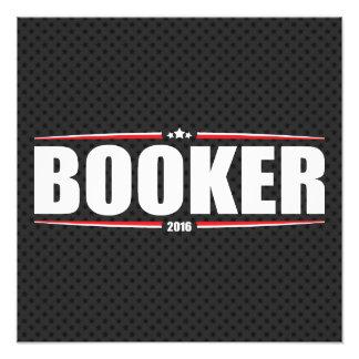 Booker 2016 de Cory (estrellas y rayas - negro) Fotografias