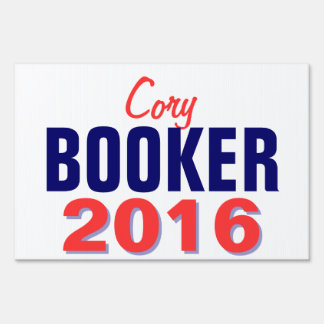 Booker 2016 lawn sign