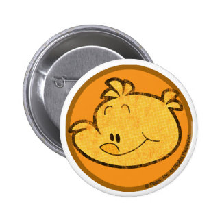 Booker el botón del polluelo pin redondo de 2 pulgadas