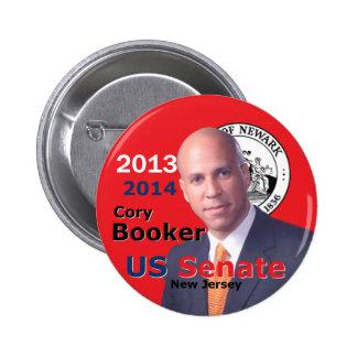 Booker Senate 2013 Pin