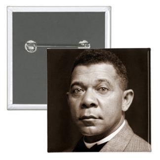 Booker T Washington, African American Civil Rights 2 Inch Square Button