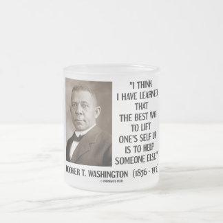 Booker T Washington Best Way Lift One s Self Up Mugs