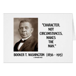 Booker T Washington Character Not Circumstances Cards