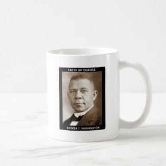 Booker T. Washington Classic White Coffee Mug