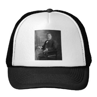 Booker T Washington Portrait by Harris Ewing Trucker Hats