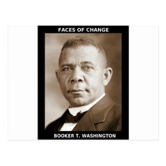 Booker T. Washington Postcard