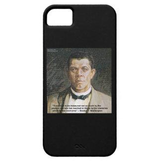 Booker T Washington & Success Quote iPhone 5 Case