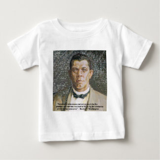 Booker T Washington & Success Quote Tee Shirt