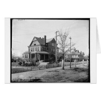 Booker T. Washington, Tuskegee Institute, Ala. Card
