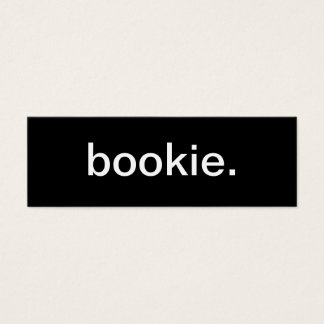 Bookie Business Card