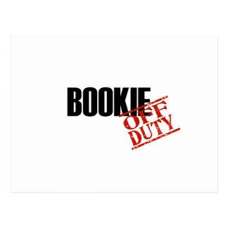 BOOKIE POSTCARD