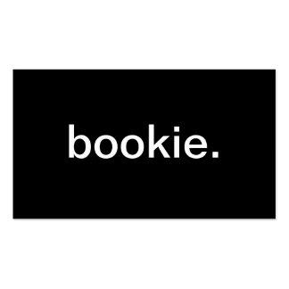 Bookie Tarjeta De Visita