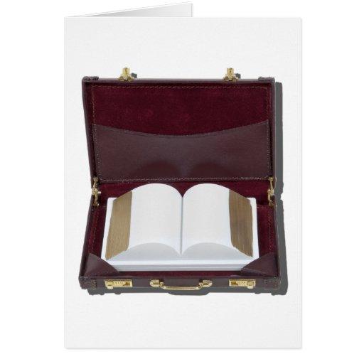 BookInBriefcase021411 Tarjeta De Felicitación