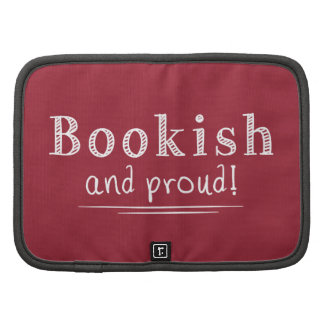Bookish And Proud Folio Planner
