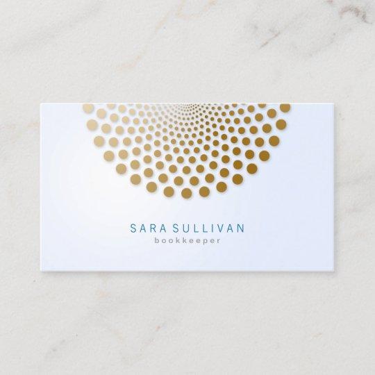 Bookkeeper business card circle dots motif zazzle bookkeeper business card circle dots motif colourmoves