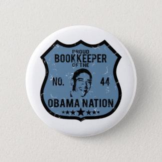 Bookkeeper Obama Nation Pinback Button