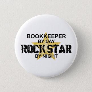Bookkeeper Rock Star Button