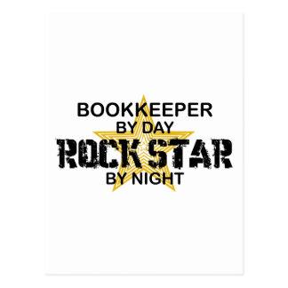 Bookkeeper Rock Star Postcard