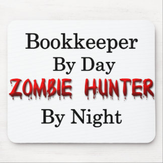 Bookkeeper/Zombie Hunter Mouse Pad