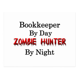 Bookkeeper/Zombie Hunter Postcard