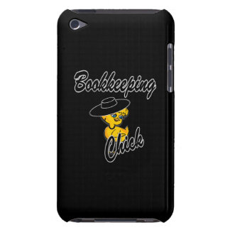 Bookkeeping Chick #4 Barely There iPod Cases