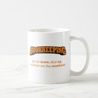 Bookkeeping-Numbers Coffee Mug