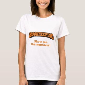 Bookkeeping / Numbers T-Shirt