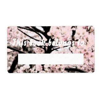 Booklabel corregido flor de cerezo
