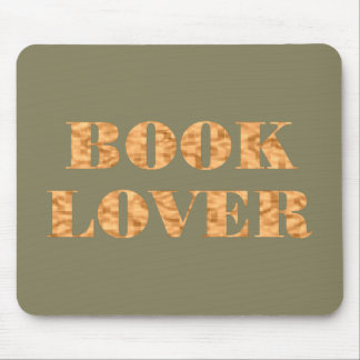 booklover mouse pad