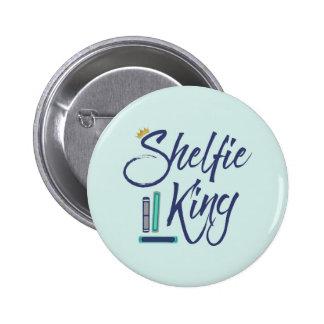 Booklover Shelfie King Button