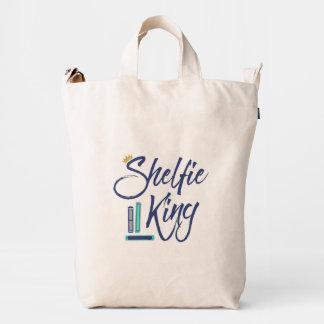 Booklover Shelfie King Duck Bag
