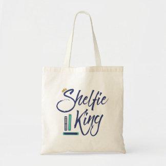 Booklover Shelfie King Tote Bag