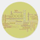 Booklovers Favorites Sticker